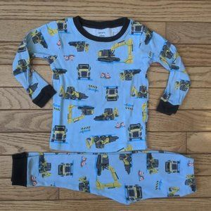 Carters Construction Pajamas